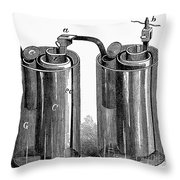 Daniell Cell, 1836 Throw Pillow