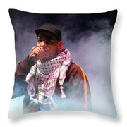 Danny Fresh Musical Concert At Manger Square Throw Pillow