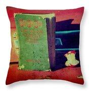 Dante's Snack Throw Pillow by Toni Hopper