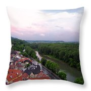 Danube Dream Throw Pillow