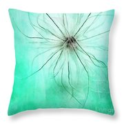 Dar La Luz Throw Pillow by Priska Wettstein