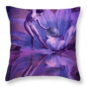 Dardanella Throw Pillow