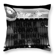 Dare To Drive In Throw Pillow
