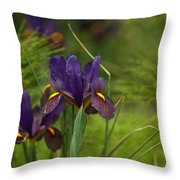 Dark And Beautiful Throw Pillow