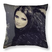 Dark Days Throw Pillow