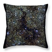 Dark Nebula, G11.11-0.12, Infrared Image Throw Pillow
