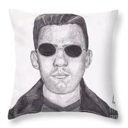 Dark One Throw Pillow