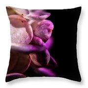 Dark Petals Throw Pillow