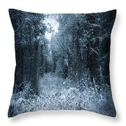 Dark Place Throw Pillow by Svetlana Sewell