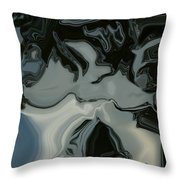 Dark Visions Throw Pillow