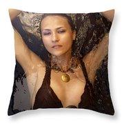 Dark Water 02 Throw Pillow
