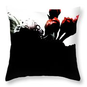 Darkened Roots Throw Pillow
