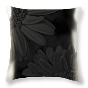 Darkness To Live Throw Pillow