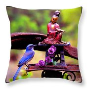 Darshan Throw Pillow