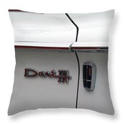 Dart 330 Emblem Throw Pillow