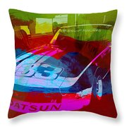 Datsun Throw Pillow