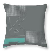 David Carson Poster Throw Pillow
