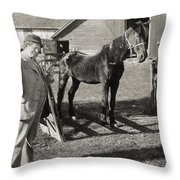 David Harum, 1915 Throw Pillow