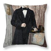 David Livingstone, Scottish Missionary Throw Pillow