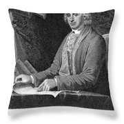 David Rittenhouse Throw Pillow