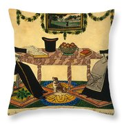 Davis: Montgomerys, 1836 Throw Pillow