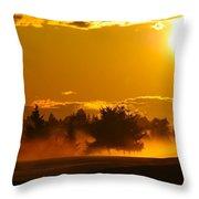 Dawn 2 Throw Pillow