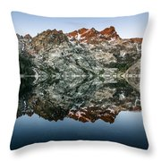 Dawn At Upper Sardine Lake Throw Pillow
