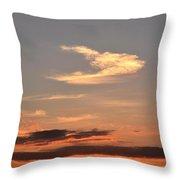 Dawn August 1 2012 Throw Pillow