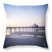 Dawn Breaking Vanilla Pop Throw Pillow
