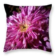 Dawn Flower Throw Pillow