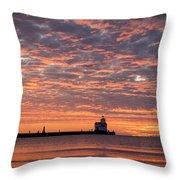 Dawn Highlights Throw Pillow