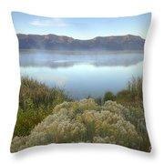 Dawn On The Centennials Throw Pillow