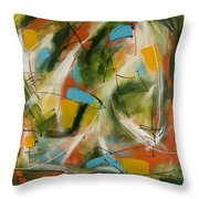 Day And Night Two Throw Pillow