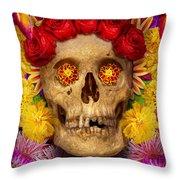 Day Of The Dead - Dia De Los Muertos Throw Pillow