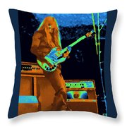 Day On The Green Red House Throw Pillow