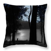 Day Or Night Throw Pillow