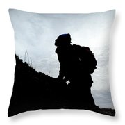 Day Trippin' Hike Throw Pillow