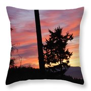 Daybreak On The Island Throw Pillow
