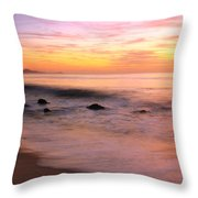 Daybreak Seascape Throw Pillow