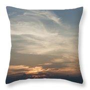 Daylight Approaches Throw Pillow