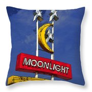 Daylight At The Moonlight Throw Pillow
