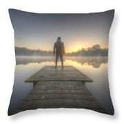 Days Of The New Throw Pillow