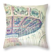 Daze At The Carnival 2 Throw Pillow