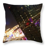 Dazzling Vegas Throw Pillow