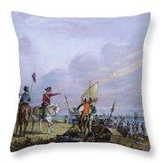 De Soto: Florida, 1539 Throw Pillow