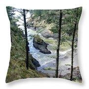 Dead Mans Cove  Throw Pillow