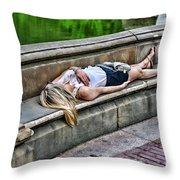 Dead On Arrival  Or  Doa Throw Pillow