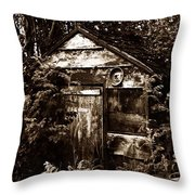 Dead Shed  Throw Pillow