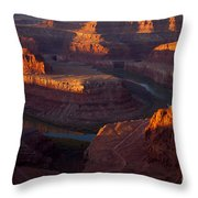 Deadhorse Reflections Throw Pillow