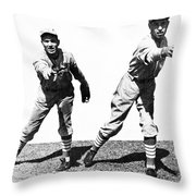 Dean Brothers, 1934 Throw Pillow